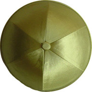 Kiwi Green Satin Kippah