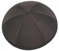 Dark Chocolate Brown Silk Kippah
