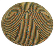 Polka Dot Brocade Kippah