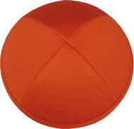 Orange Cotton Kippah