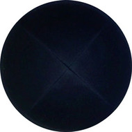 Black Cotton Kippah