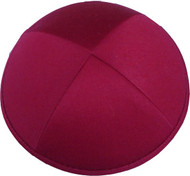 Red Cotton Kippah