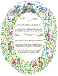 The Festivals Ketubah