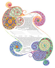 You and I Ketubah