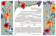 Triptych: Day Ketubah