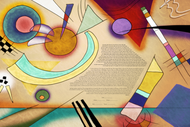 The Floating Forms Ketubah