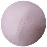 Light Pink Linen Kippah