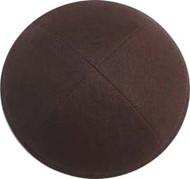 Walnut Linen Kippah
