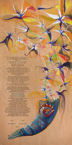 The Orchid of Madagascar 1 Ketubah