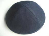 Dark Blue Denim Cotton Kippah