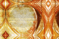 The Desert Rose Ketubah