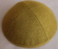 Olive Wool Kippah