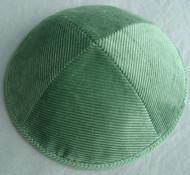 Green Corduroy Kippah