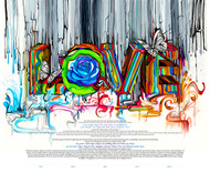 Color of Love Ketubah by Nava Shoham