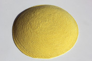 Yellow Tulip  Knit Kippah