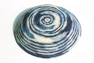 Psychedelic Swirl Knit Kippah