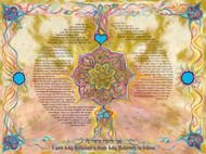 TOPAZ Ketubah by Nava Shoham