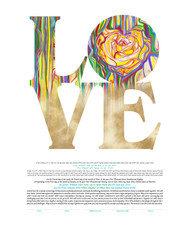 A Dream of Love Ketubah