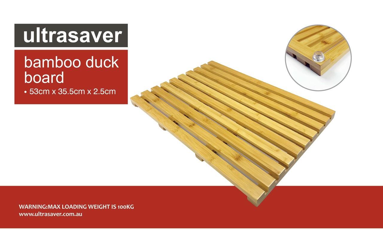 Bamboo Bath Duck Board Ultrasaver