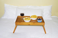 Foldable Bamboo Bed Tray