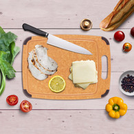 Wood Fiber Chopping Board Solid Wood Antibacterial AntislipCutting Board Kitchen