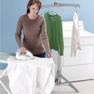 Portable Folding Multi Clothes Airer Stand Clothe Dryer Garment Hanger Coat Rack