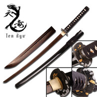Ten Ryu FORGED SAMURAI SWORD (Copper Tone)