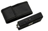 4' KWIK FORCE BASIC BLACK STUN GUN W/ BUILT IN CHARGER