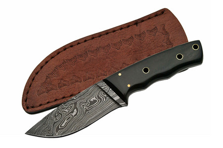 "8"" DAMASCUS PIPE FITTED HORN BOWIE"