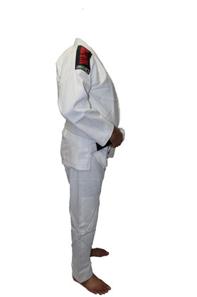 White Jiu Jitsu Gi Uniform