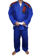 Jiu Jitsu Gi Diamond Cut (Blue)
