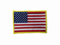 USA-Gold Border Patch
