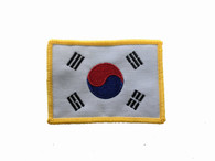 Korea-Gold Border Patch