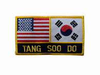 USA & Korea-Tang Soo Do Patch