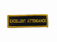 Leadership Patch - Excellent Attendance