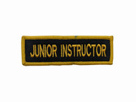 Rank Patch - Junior Instructor