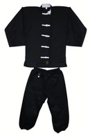 Kung Fu Uniform (White Button)