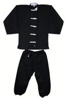 Kung Fu Uniform (White Button)