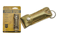 GOLD SNAKESKIN PEPPERSPRAY