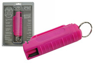 Hard Shell Pepper Spray (Pink)