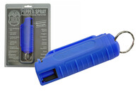 Hard Shell Pepper Spray (Blue)