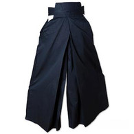7.5 oz. Hakama - Black - Ch. Small