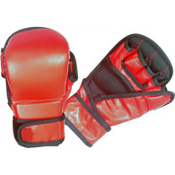 SPARRING GLOVES VINYL (RED)