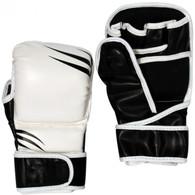 MMA SPARRING GLOVES (BLACK AND WHITE)