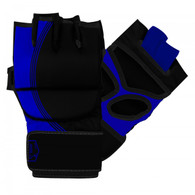 MMA STRIKING GLOVES (BLACK and BLUE)