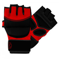 MMA STRIKING GLOVES BLACK / RED