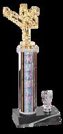 Silver Martial Arts Trophy