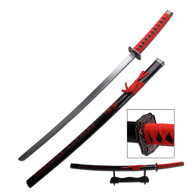 SAMURAI KATANA (Red Inscription)