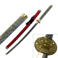 ORIENTAL SWORD (Red Leather)