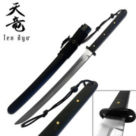 Ten Ryu HANDMADE ORIENTAL SWORD (Black Wood)